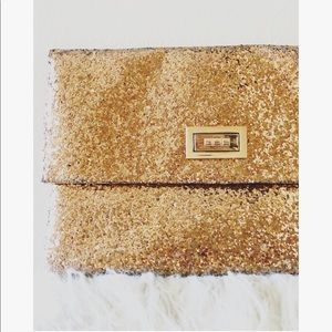 Mossimo | Gold Luxus Glitter New Years Clutch
